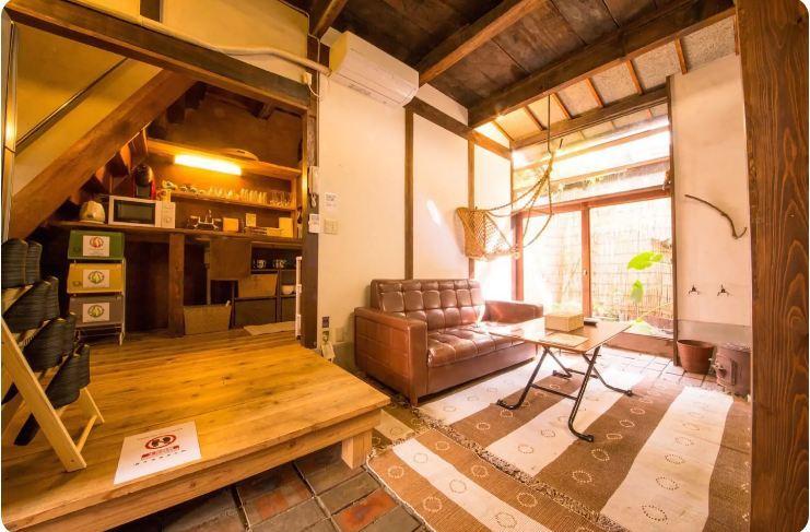 Traditional Japanese House near subway