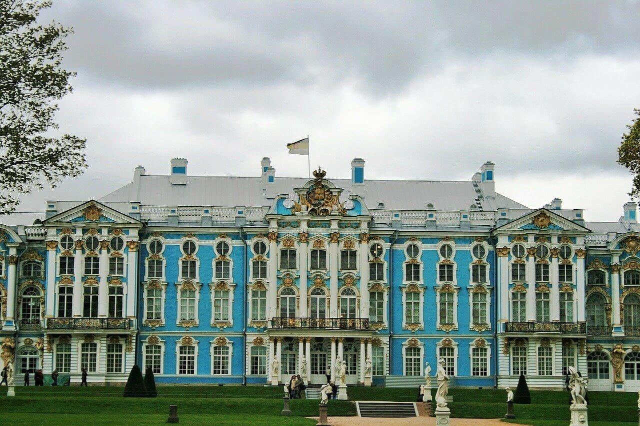 Tsarskoye Selo and the Amber Room