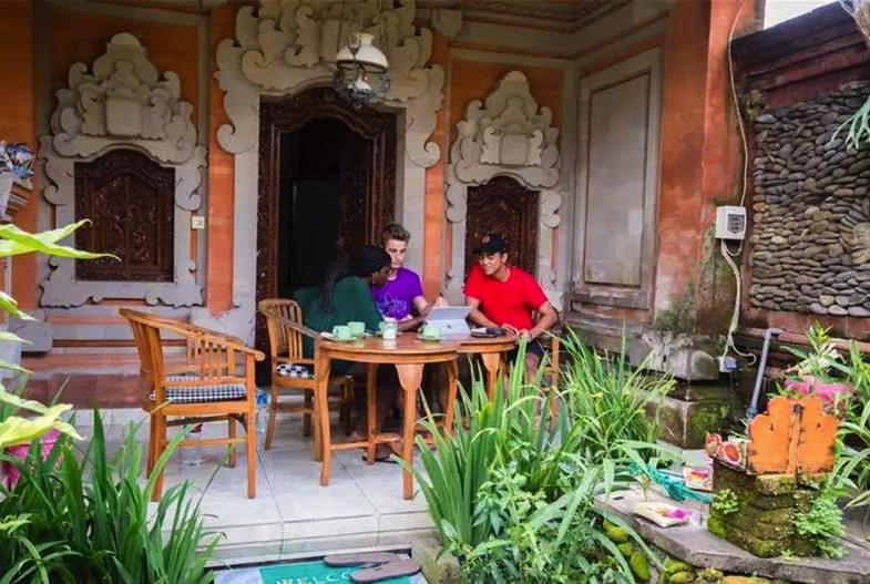 Tunjung Hostel best hostels in Ubud