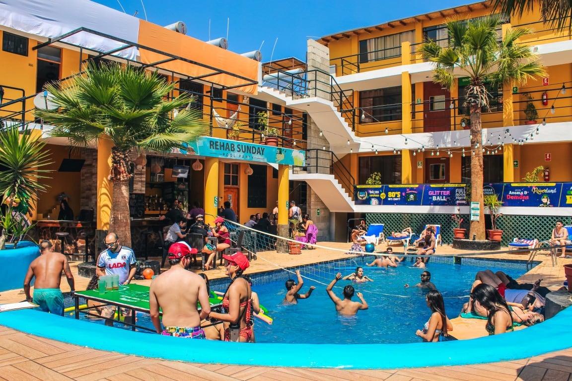 Wild Rover Huacachina best hostels in Huacachina