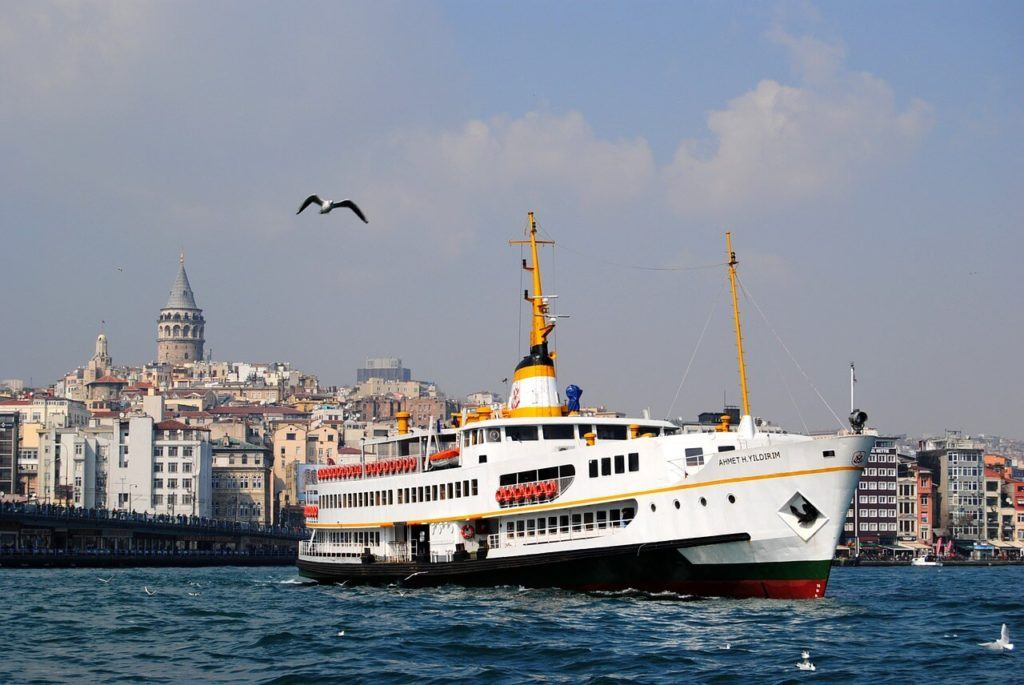 getting around istanbul with the ferry