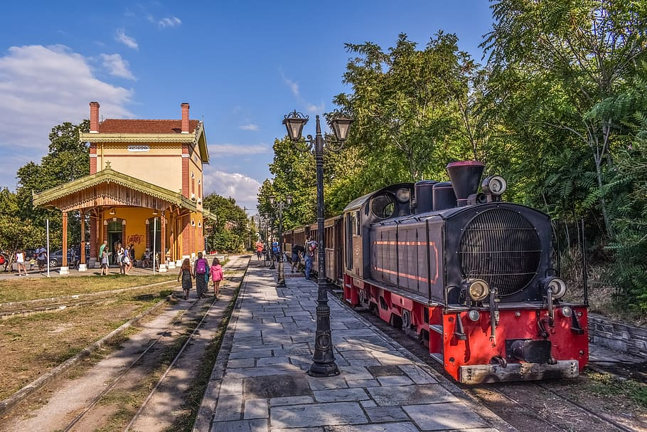 cheap train travel in Greece