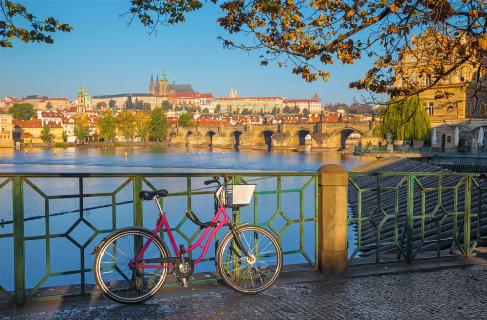 renting a bike in Prague