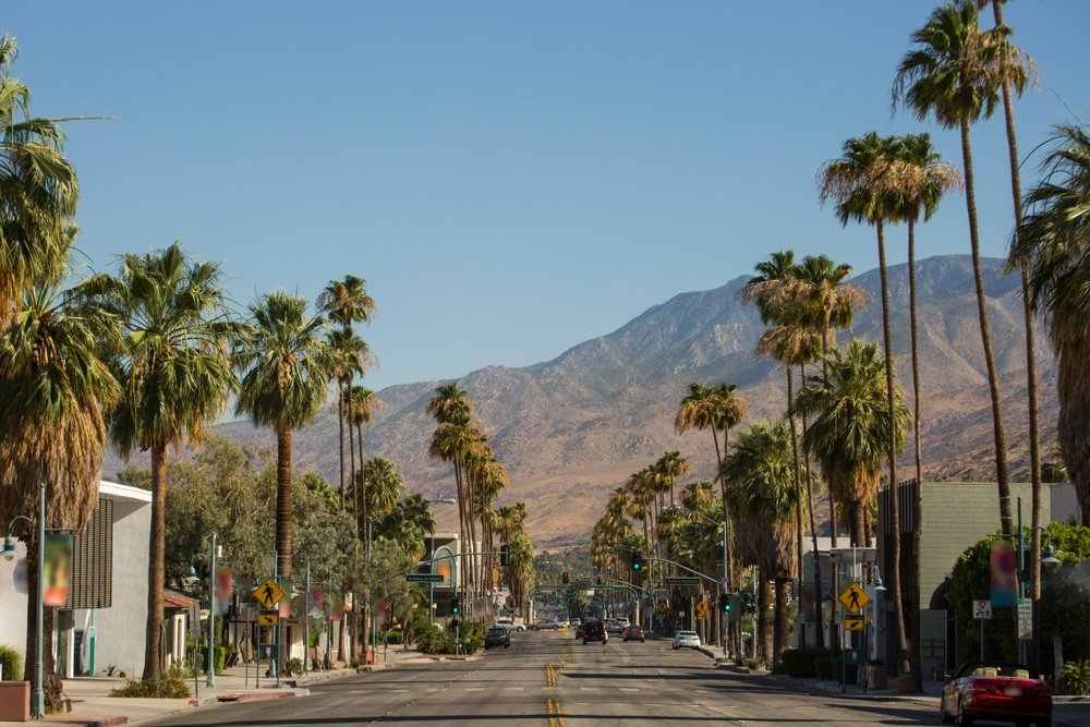 shutterstock - palm springs - downtown palm springs
