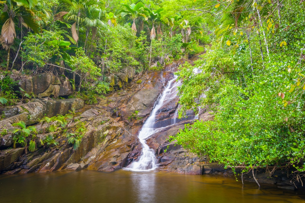 Port Glaud Waterfall