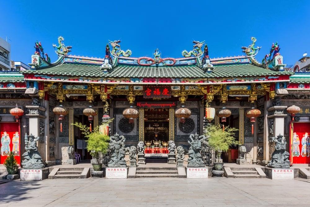 shutterstock - yangon - chinatown