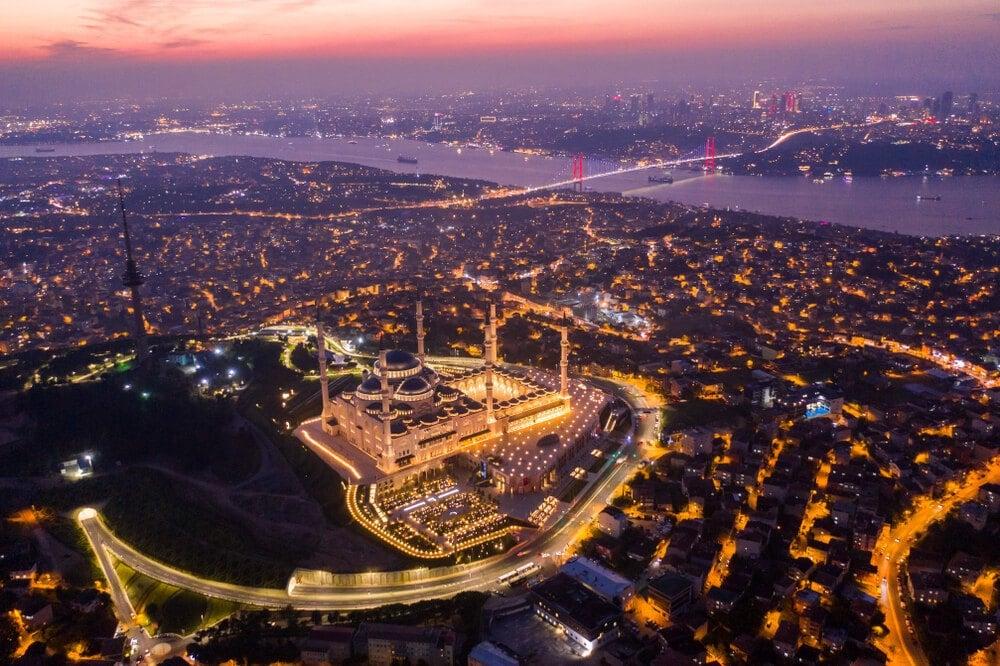 camlica hill best view in istanbul
