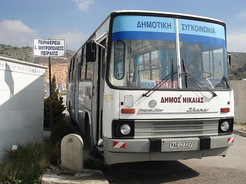 how to get around greece cheap