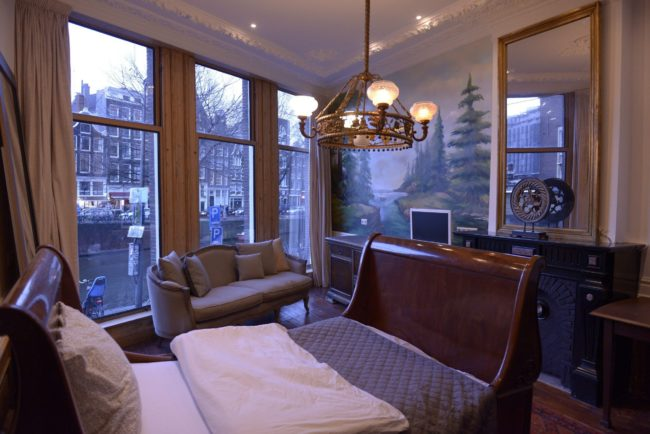 amsterdam bed and breakfast view