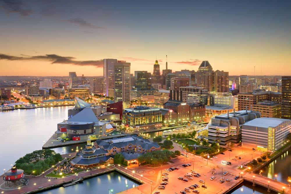 Accommodation in Baltimore