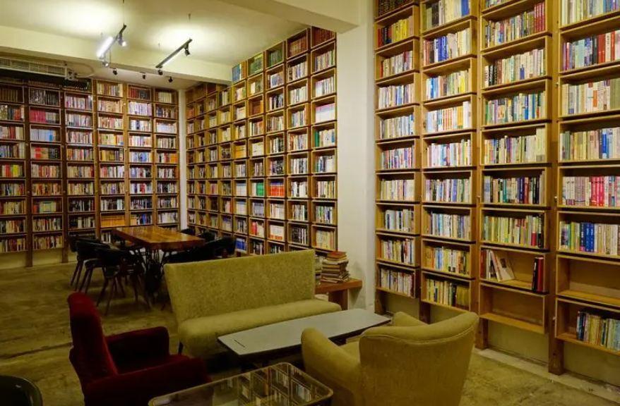 best hostels in Taiwan Caoji Book Inn