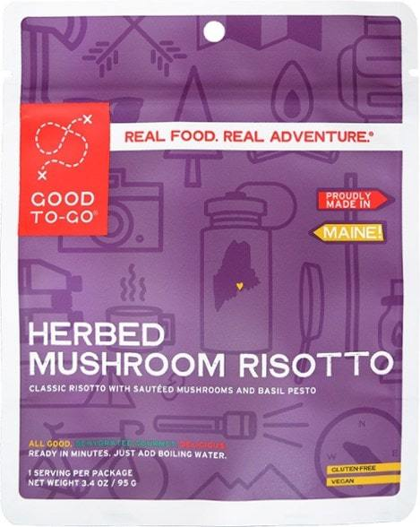 Good to Go-Herbed Mushroom Risotto