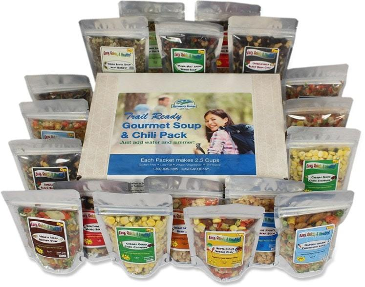Harmony House-Trail Ready Gourmet Soup and Chili Pack