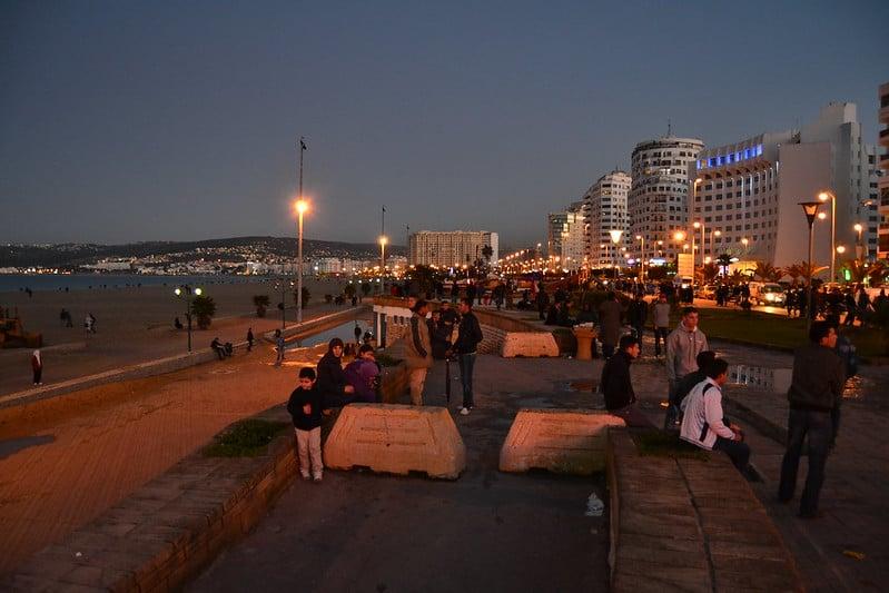 The Boulevard Tangier