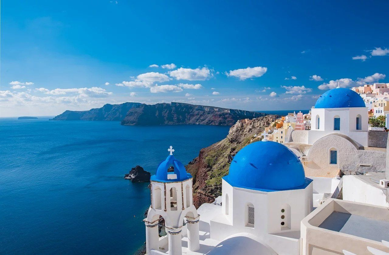 Oia, Santorini - top place to go in Greece for tourists