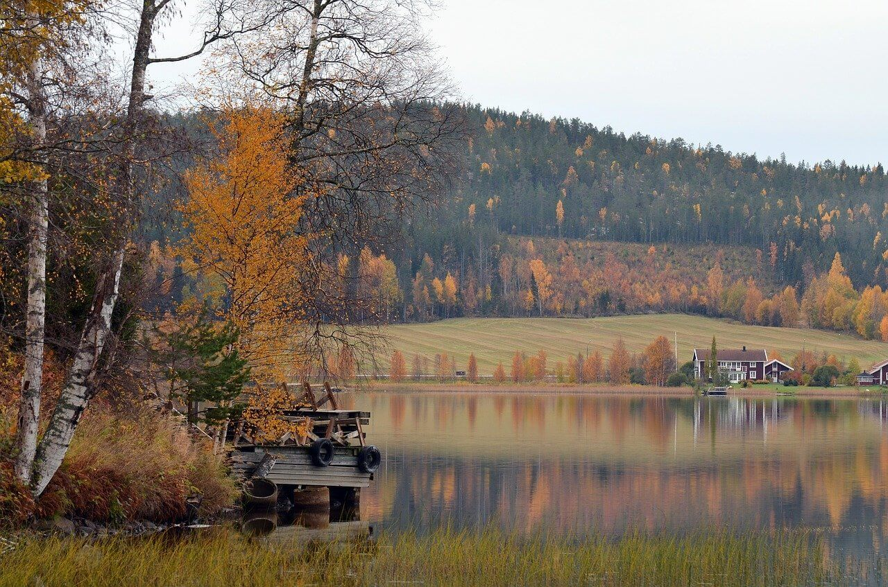 backpacking in sweden