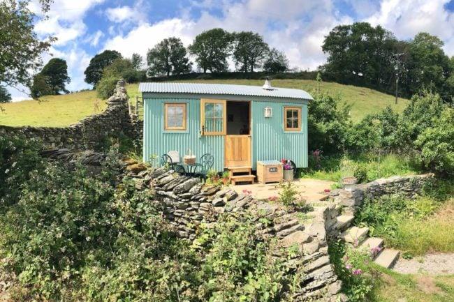 Lake District Shepherd Hut near Windermere