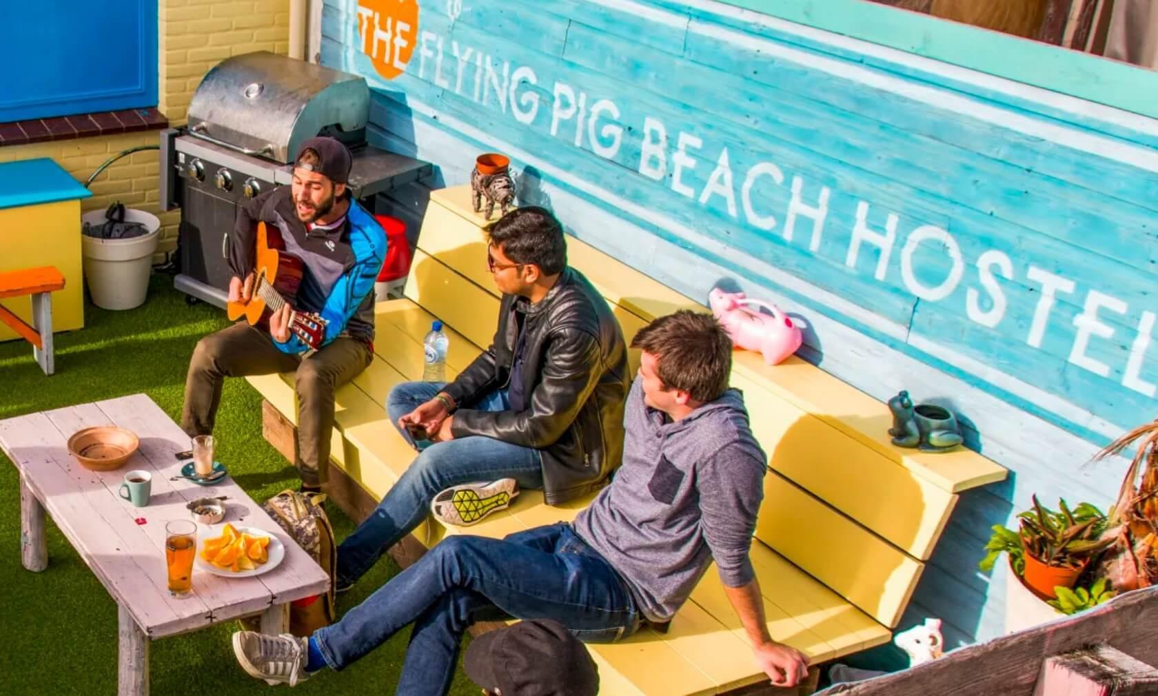 Best Hostel in Amsterdam, The Netherlands - Flying Pig Beach
