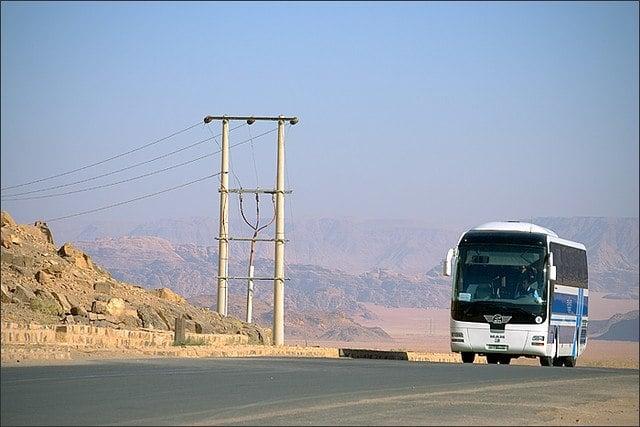 Is public transportation in Jordan safe