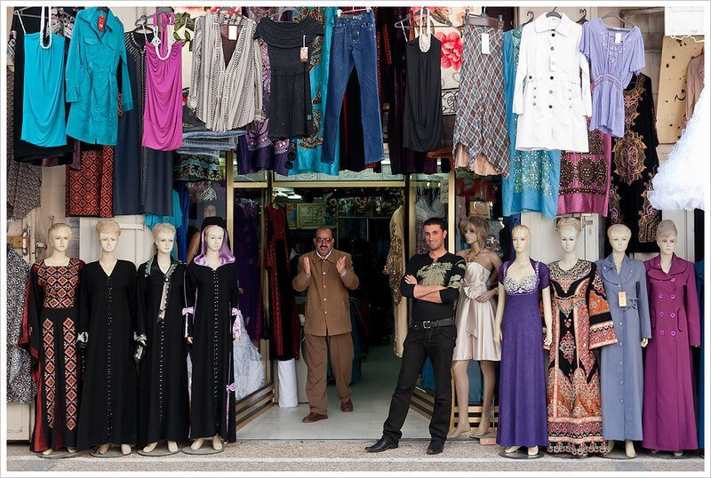Shopping in Nablus - an activity in Palestine