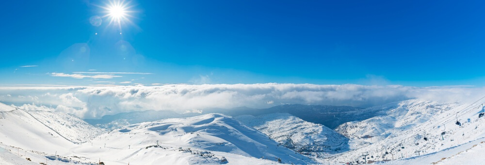 Mount Hermon ski resort - a cool thing to do in Israel