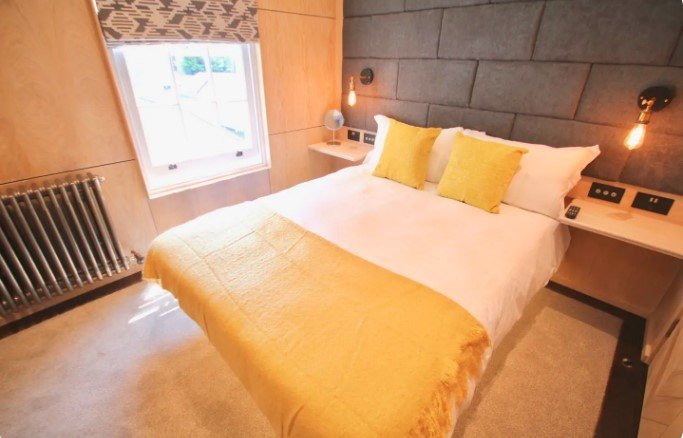 Beckett Southsea Modern Double Room, Portsmouth