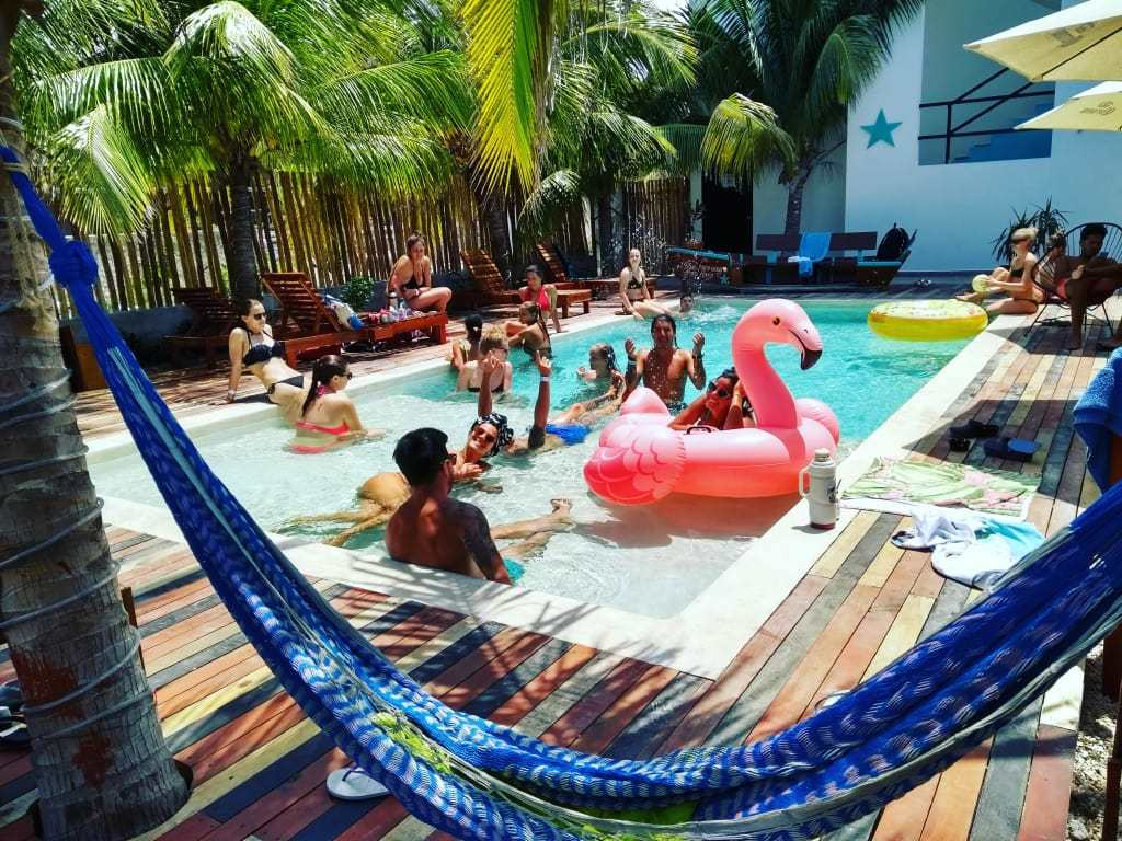 Che Holbox Hostel best hostel in holbox