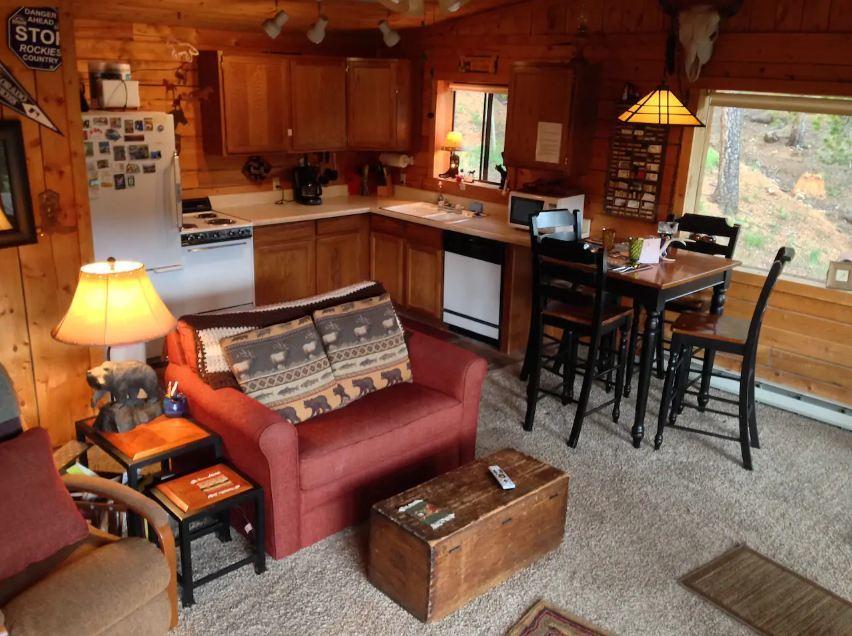 Colorado Deer Creek Log Cabin