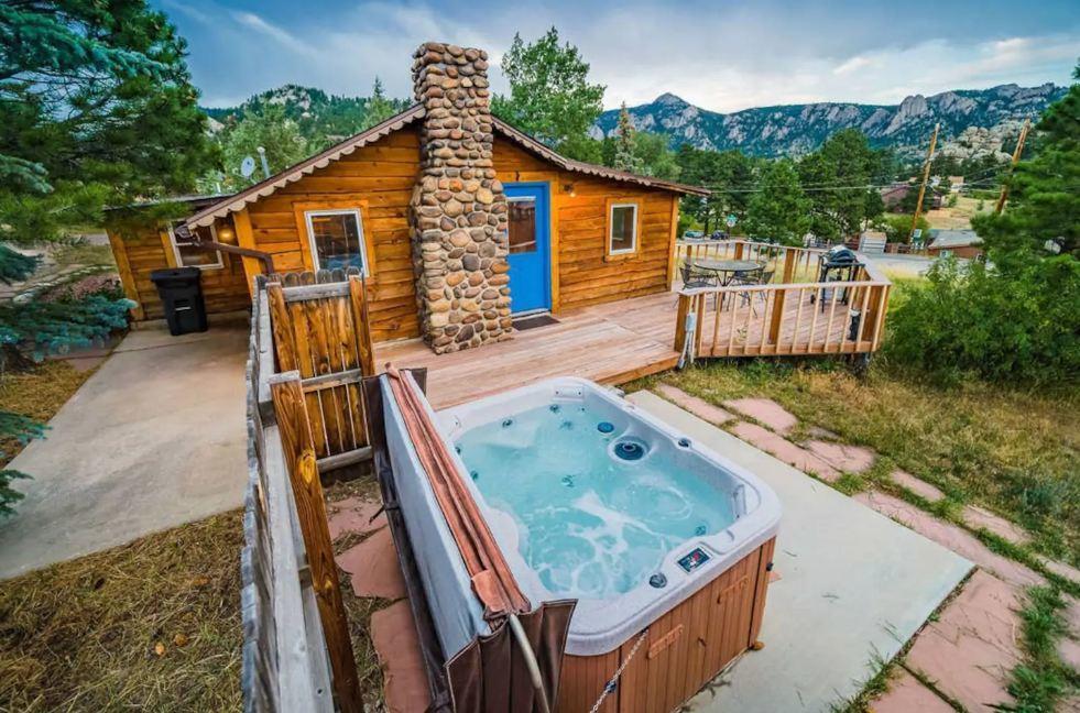 Colorado Historic Estes Park Cabin