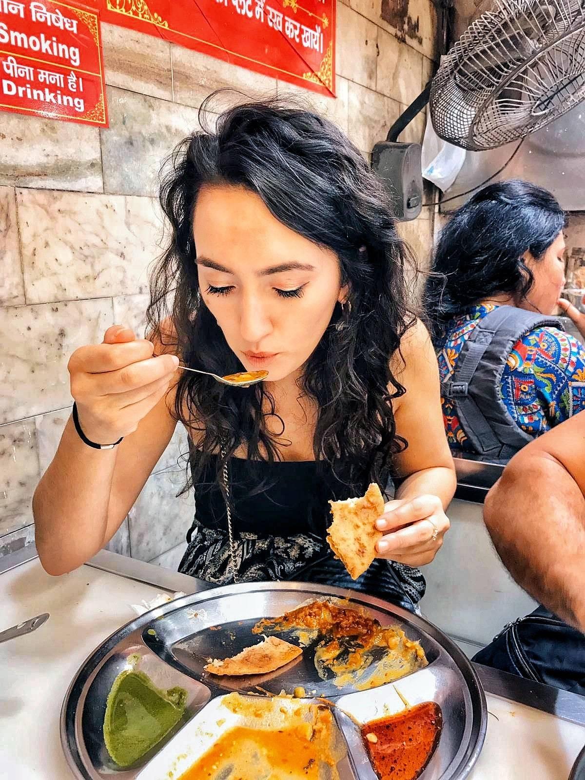 Food Walk Through Old Delhi