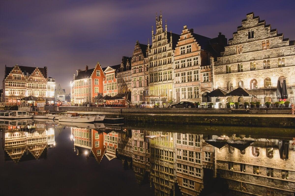 ghent belgium canals