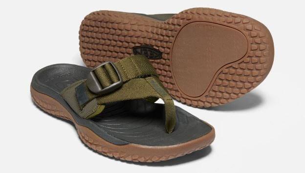 Mens SOLR Toe Post Sandal