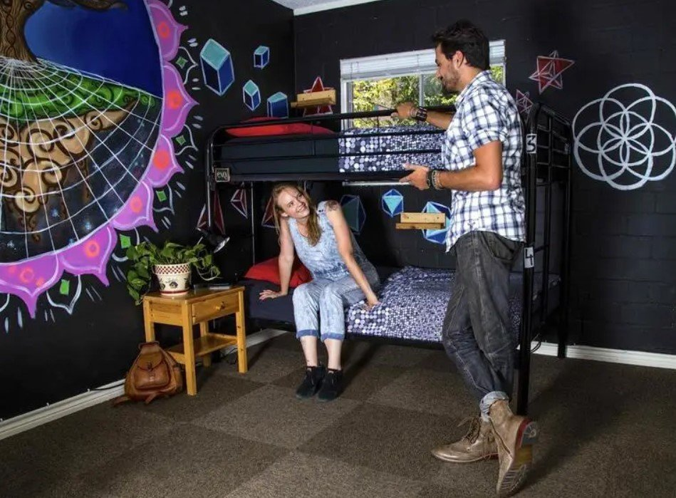 One of the coolest hostels in USA