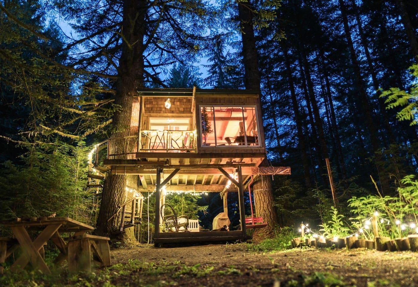 Mt Hood Magical Treehouse