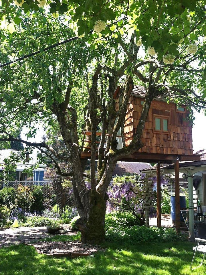 Serene Artsy Treehouse