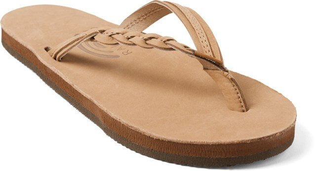 Rainbow Sandals Premier Leather Braided Flip flops