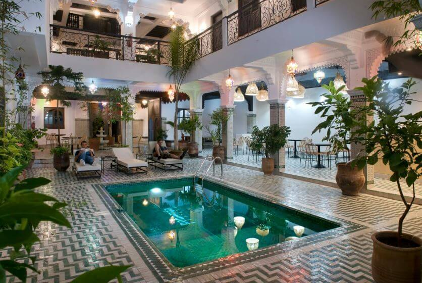 the best hostel in Marrakech