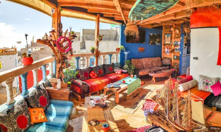 the best hostels in Taghazout