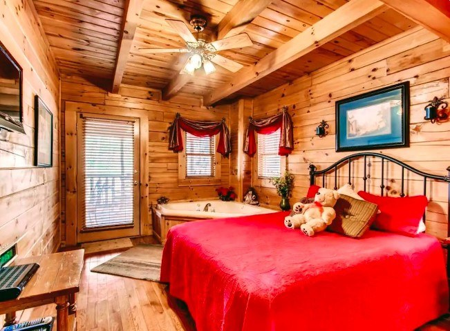 The Cuddleup Cabin, Tennessee