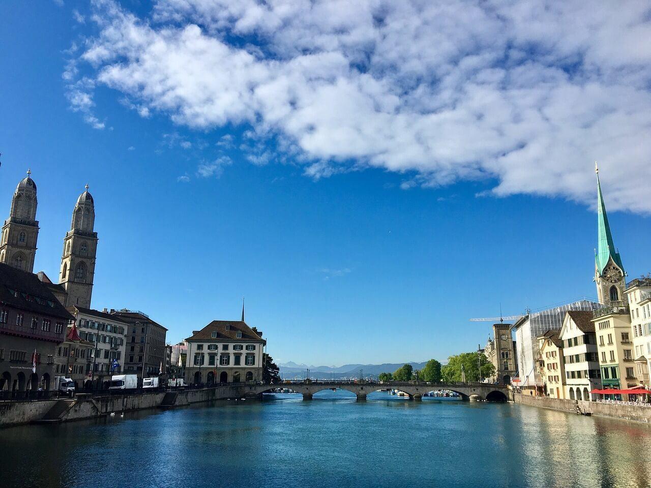 Zurich – Overall Best Place to Stay in Switzerland