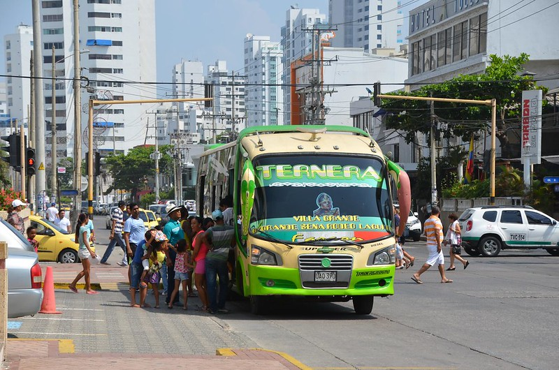 Is public transportation in Cartagena safe