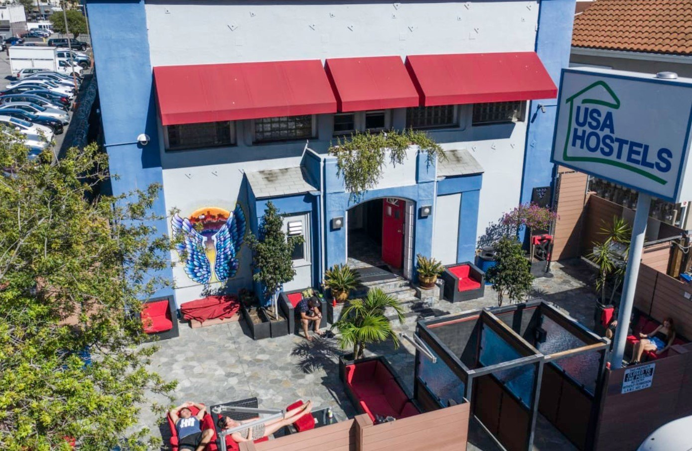 the best hostel in usa