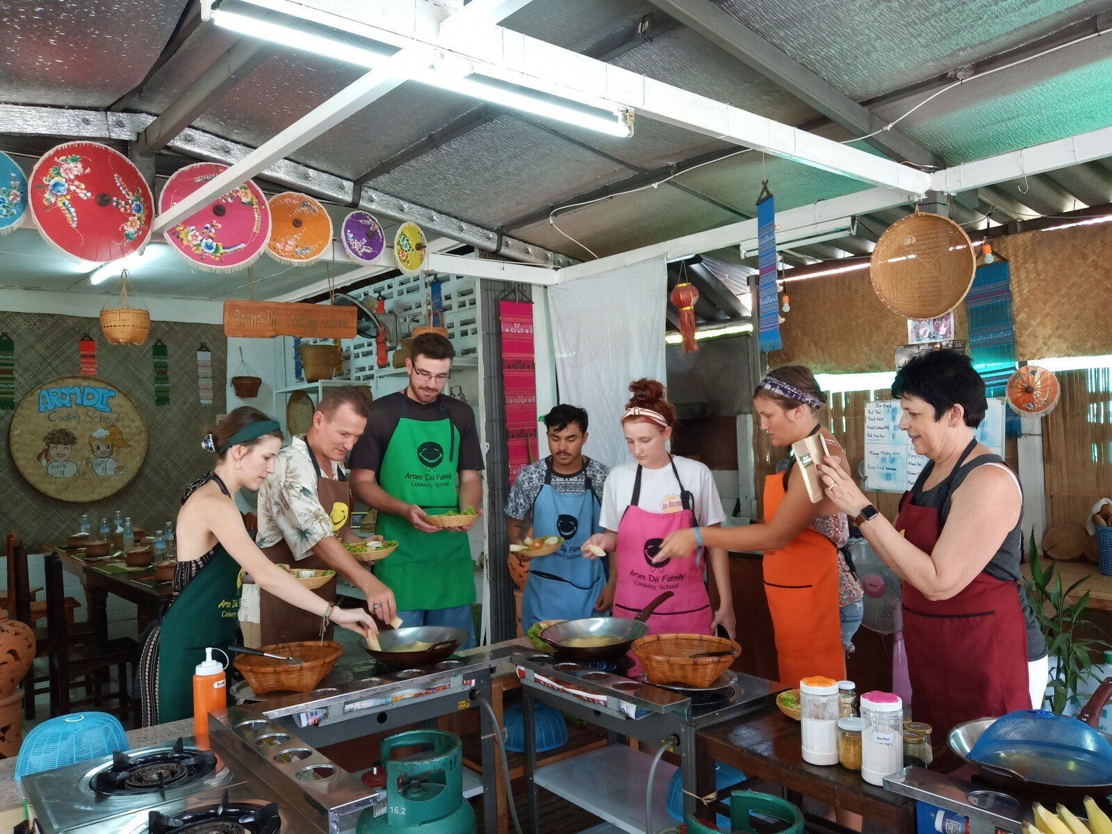 Aromdii Thai Cooking Class and Market Tour