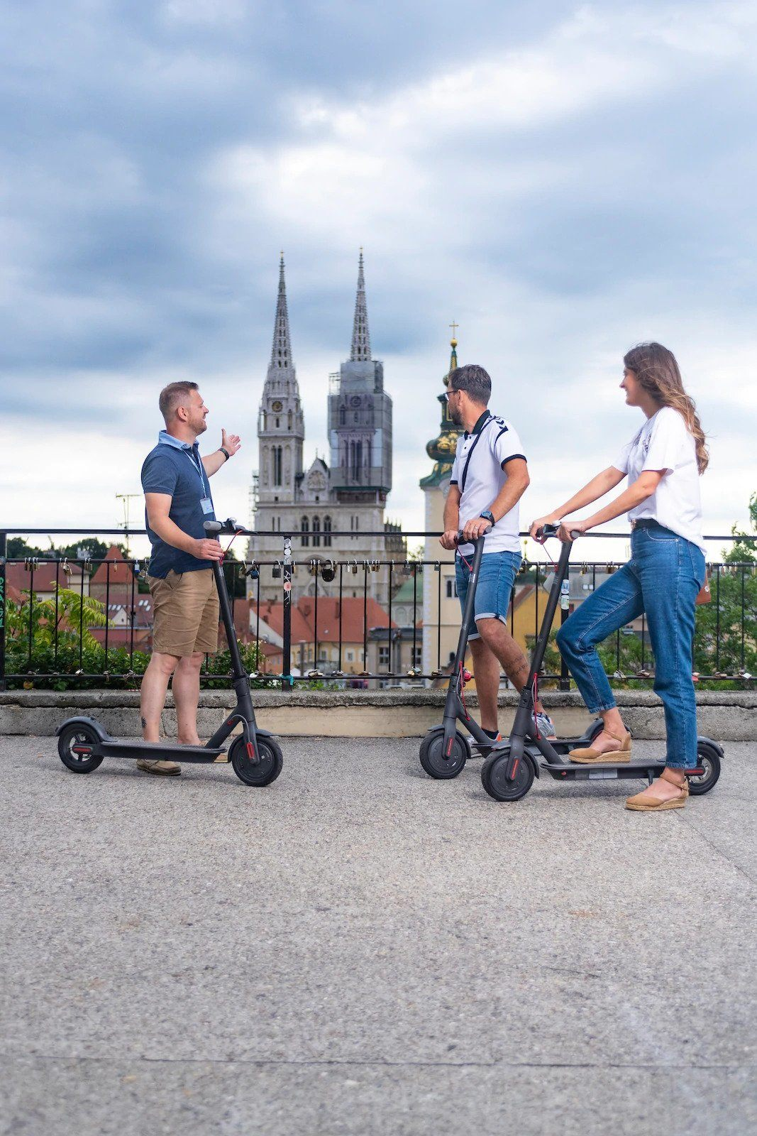 Electric Scooter Tour Of Zagreb