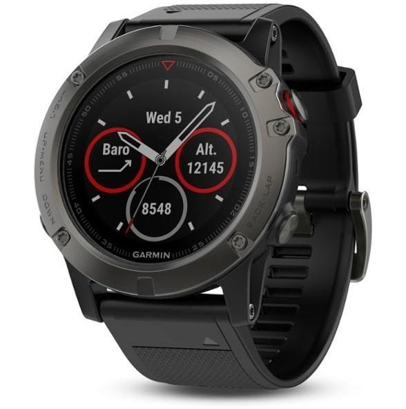 REI image of the Garmin Fenix Sapphire 5x GPS watch