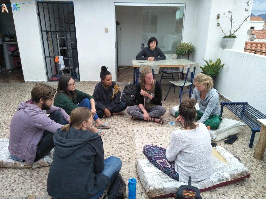Spanish Friends best hostels Sucre