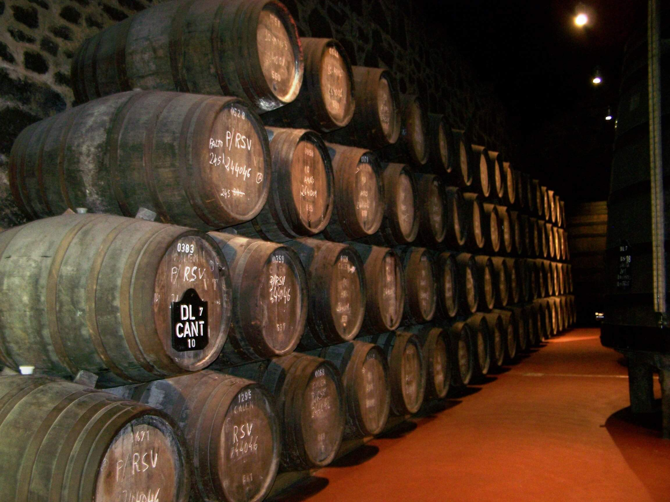 port wine barrels in gaia