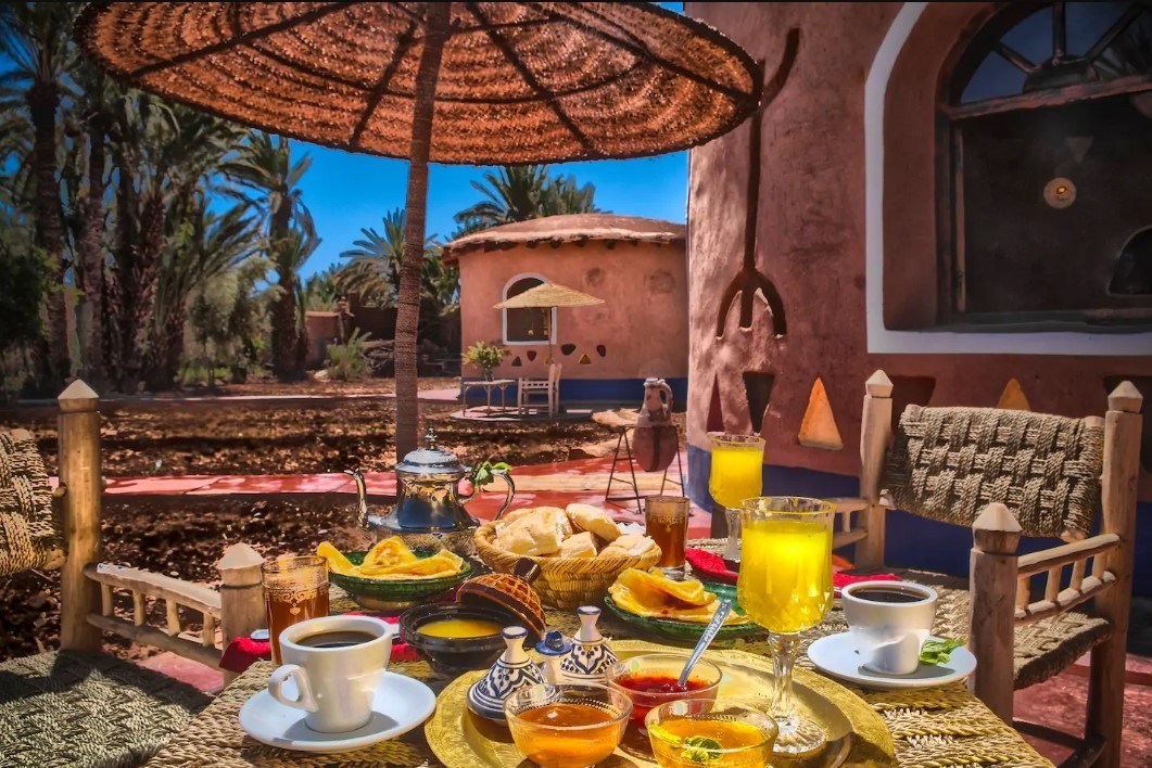 Where to stay in Atlas Mountains Sahara Desert