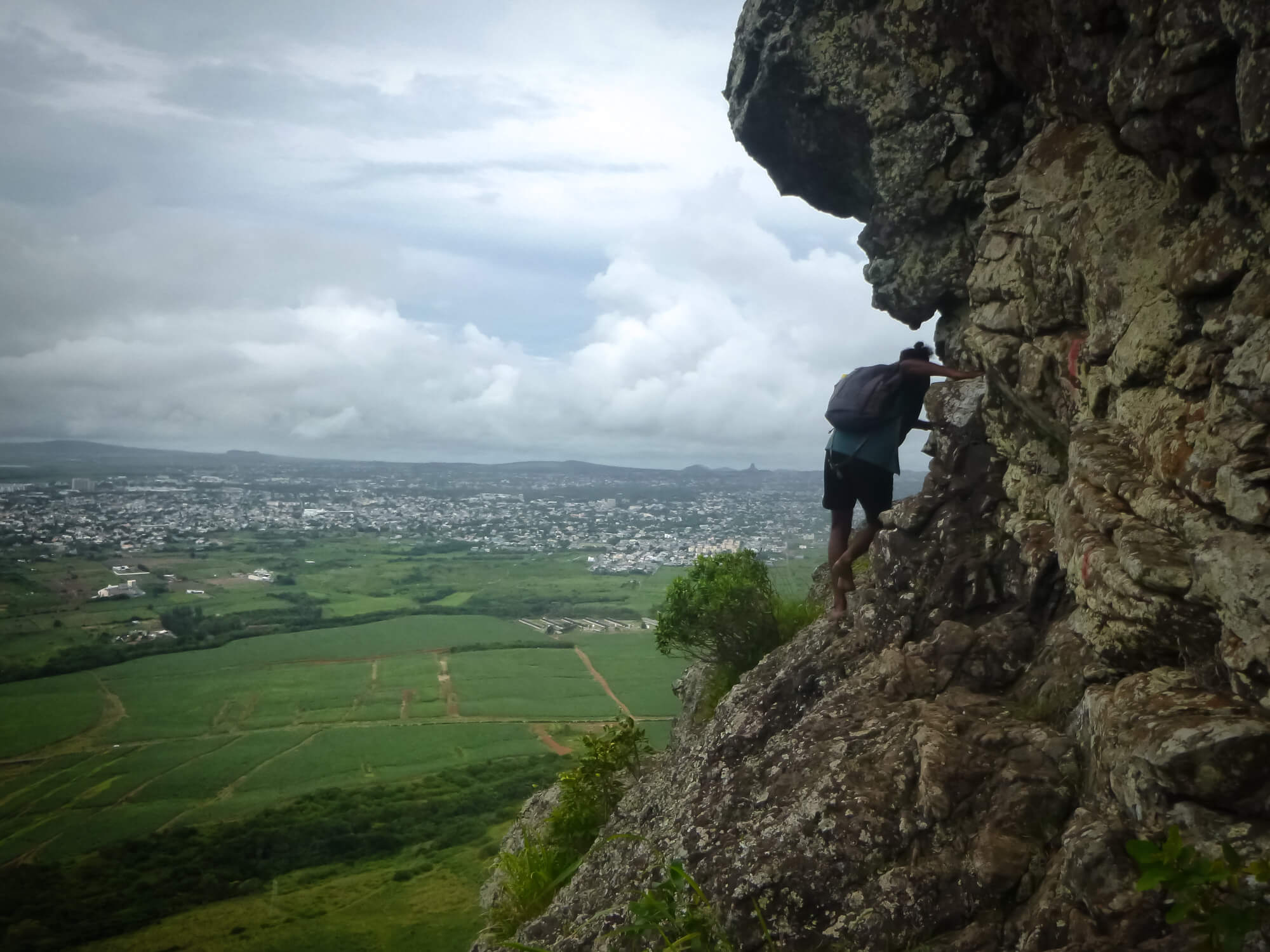 Hiking Trois Mamelles mountain - free activities in Mauritius