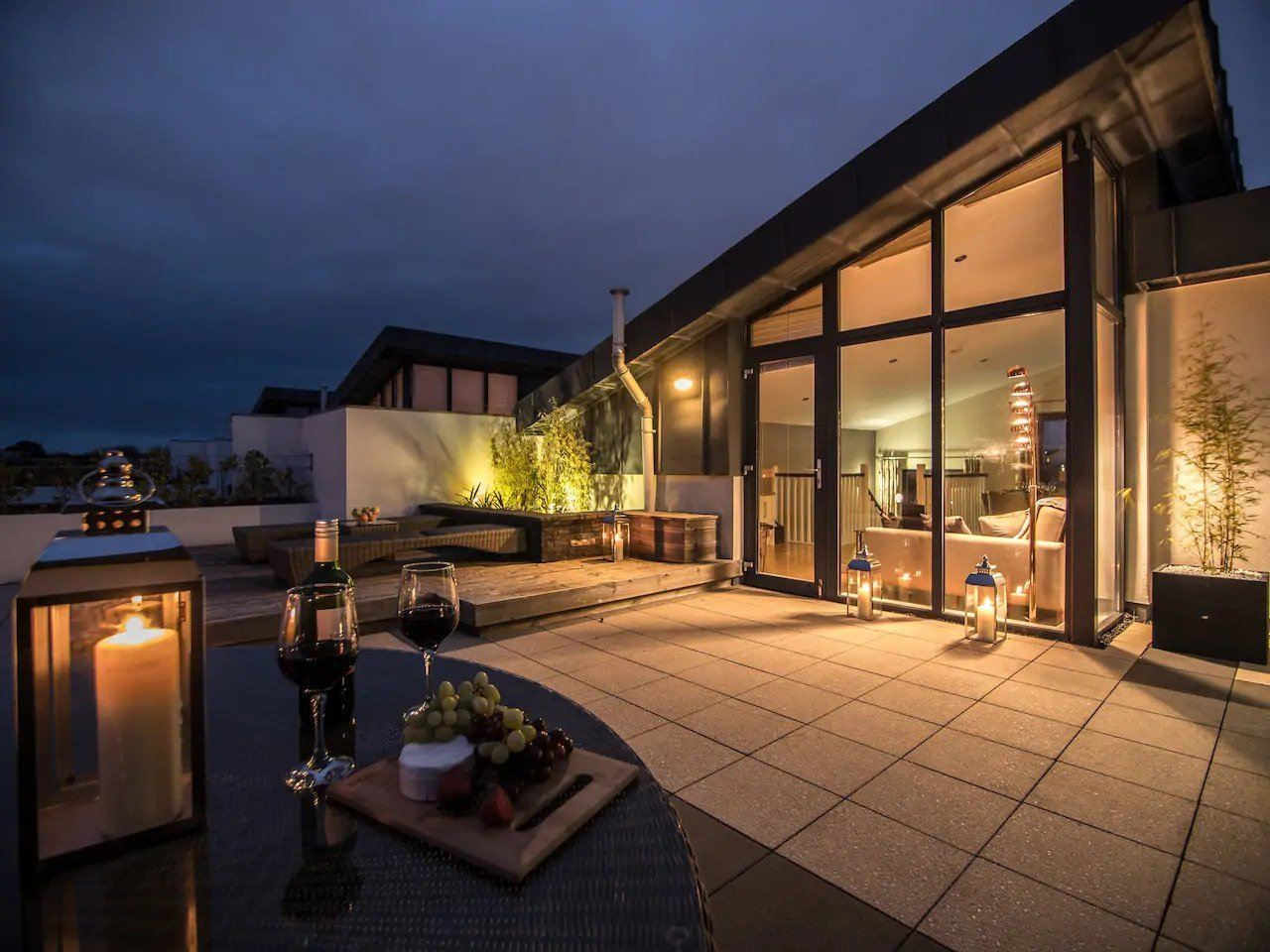 penthouse airbnb galway